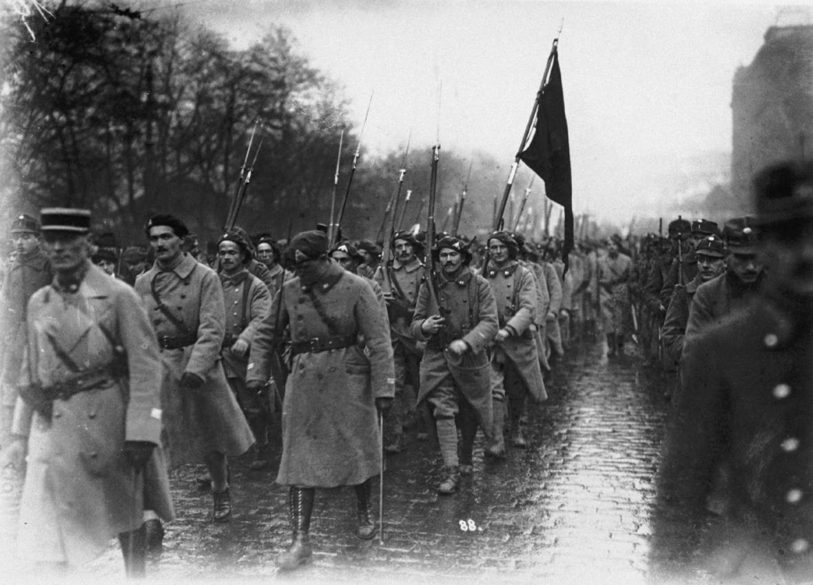 Českoslovenští legionáři se vyznamenali na západní i východní frontě