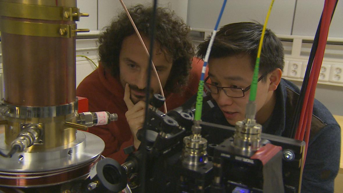 Vědci v brněnském Ústavu přístrojové techniky