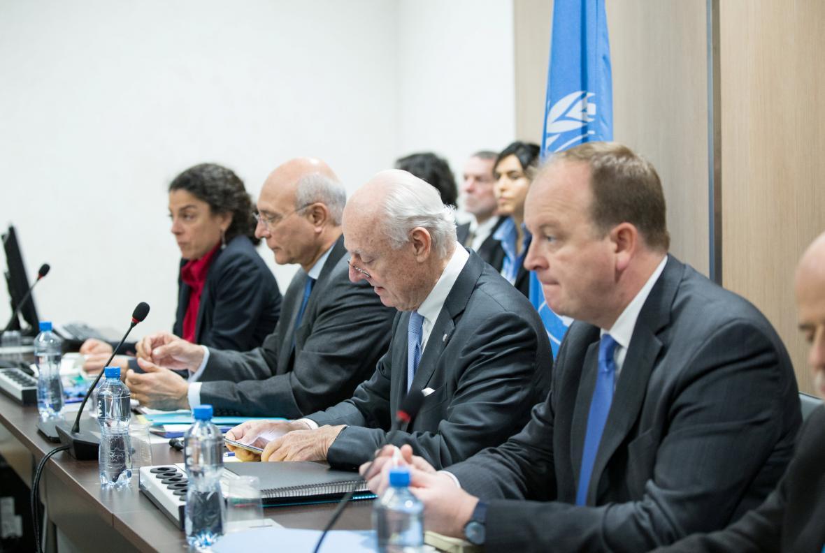 Ženevská jednání o syrském konfliktu
