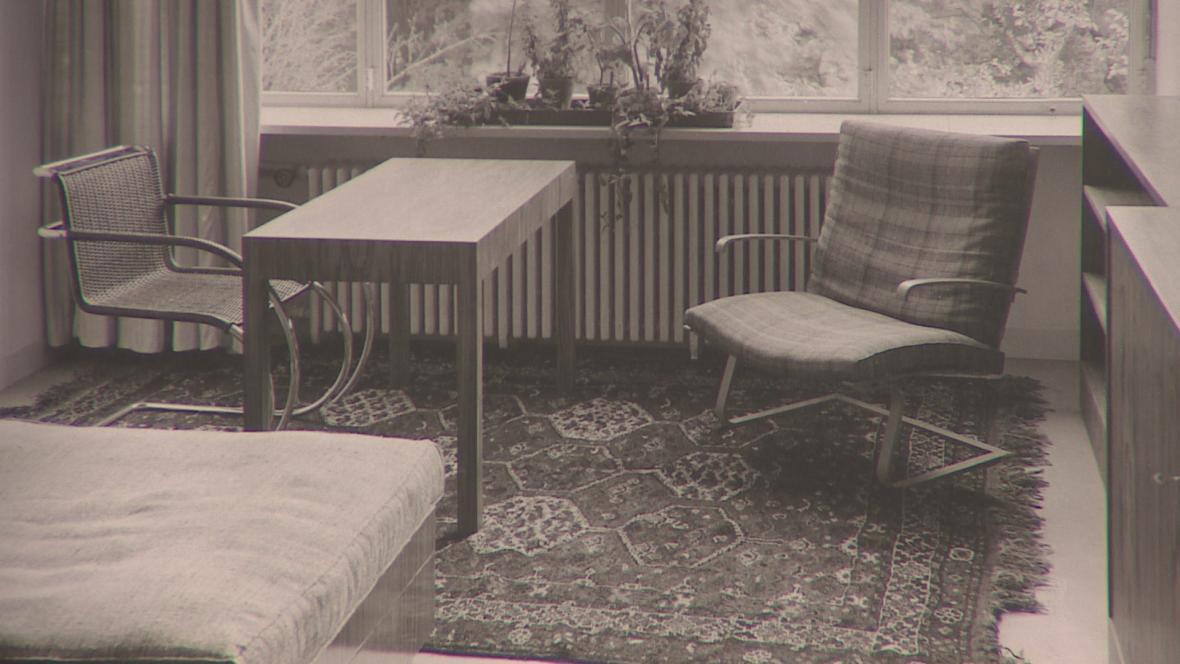 Pohled do původních místností vily