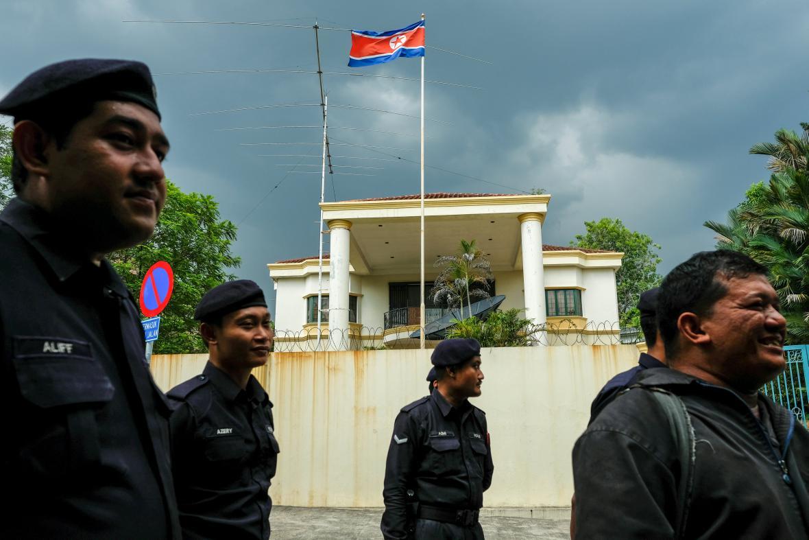 Severokorejská ambasáda v Kuala Lumpur