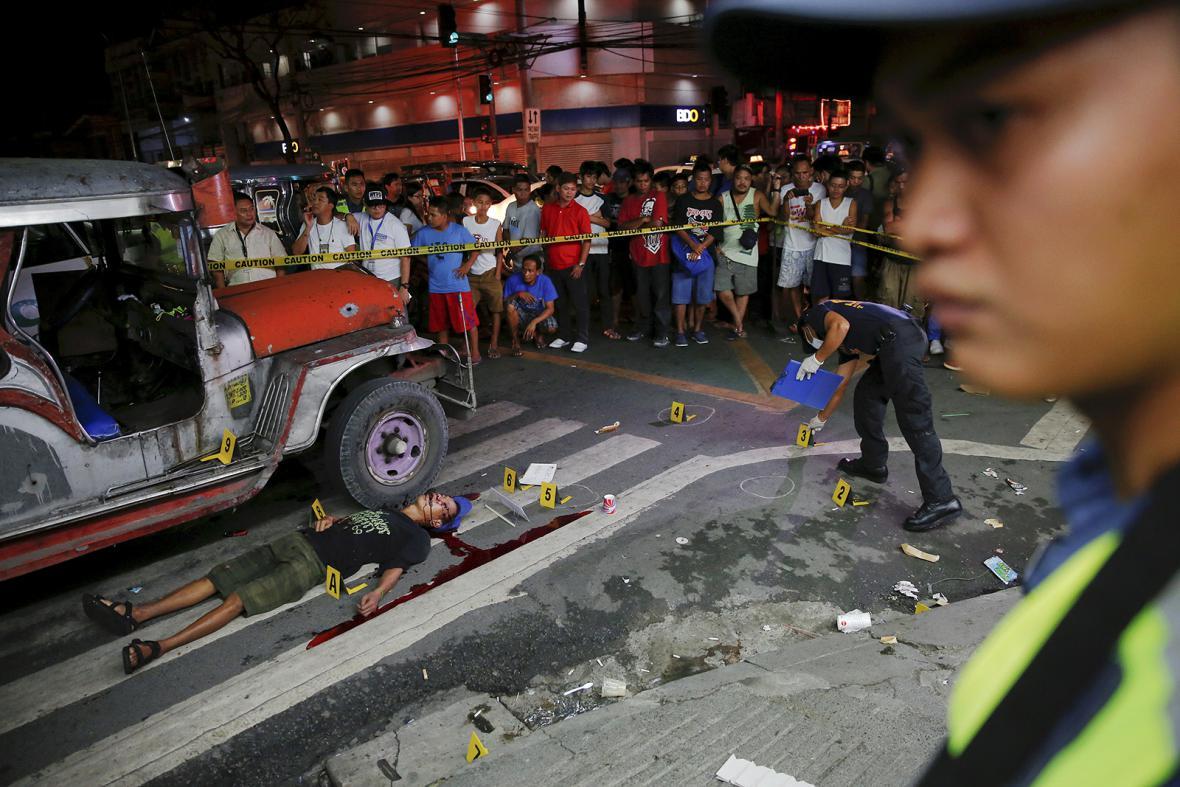Drogové války na Filipínách