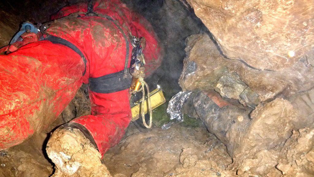 Záchrana speleologa byla komplikovaná