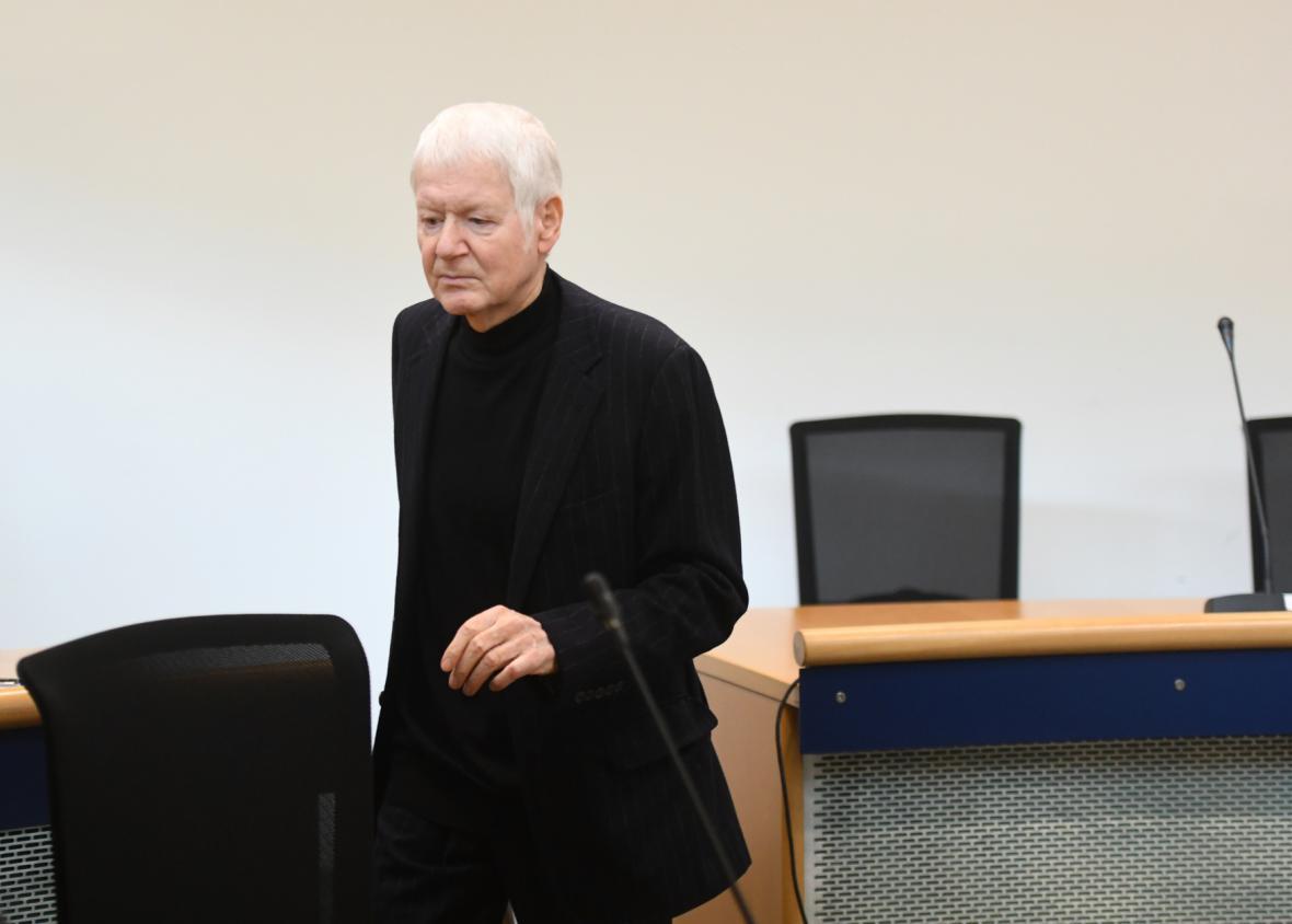 Anton Schlecker u soudu