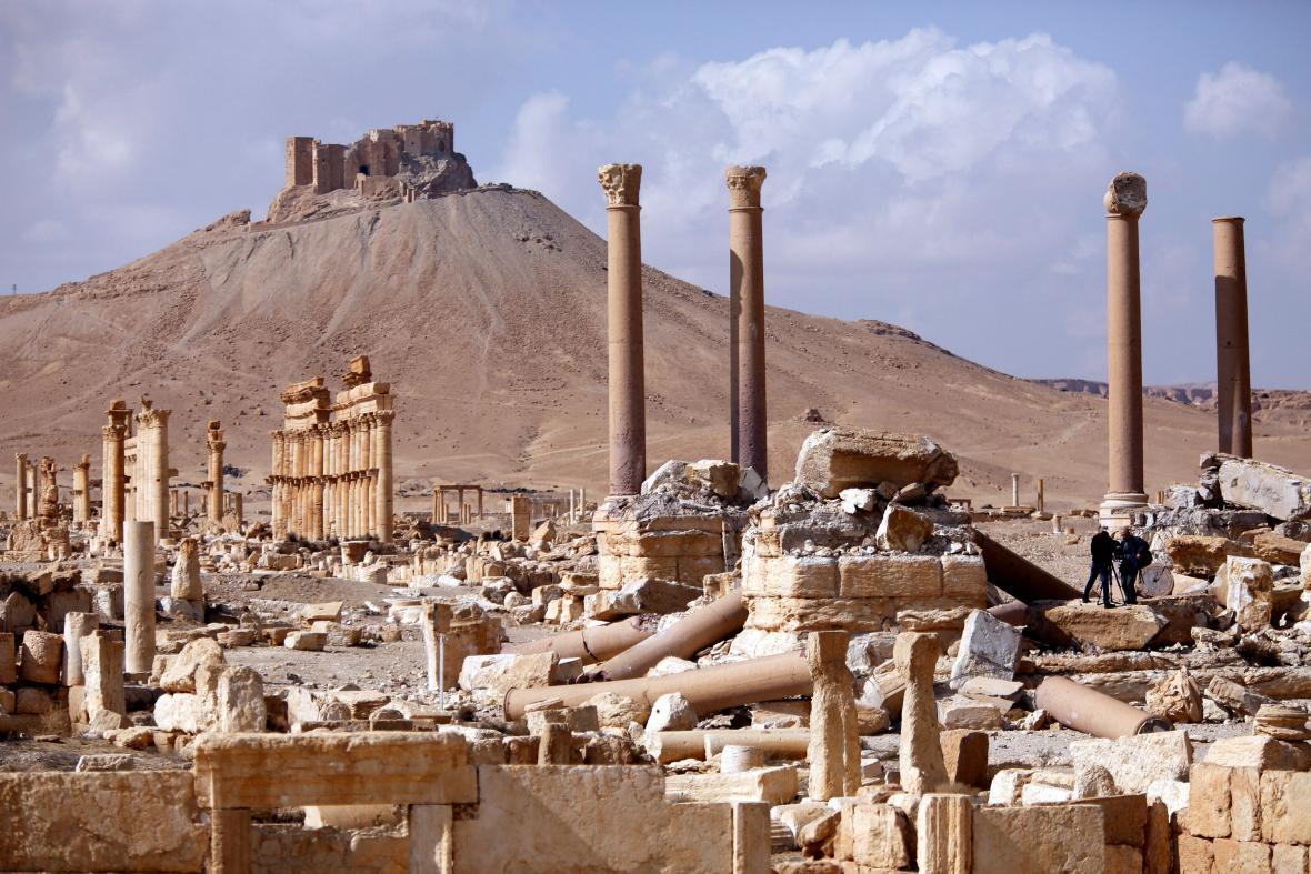 Ruiny historické Palmýry