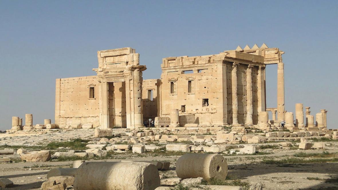 Starověký amfiteátr v Palmýře
