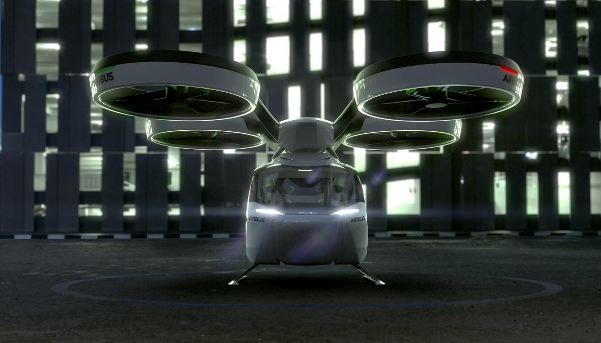 Létající auto-dron Italdesign-Airbus PopUp