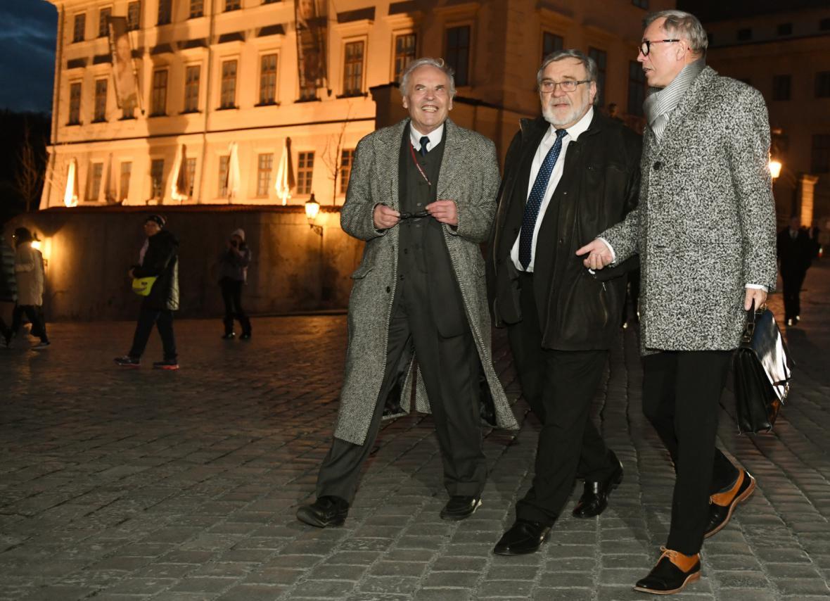 Setkání prezidenta Miloše Zemana s příznivci na Pražském hradě