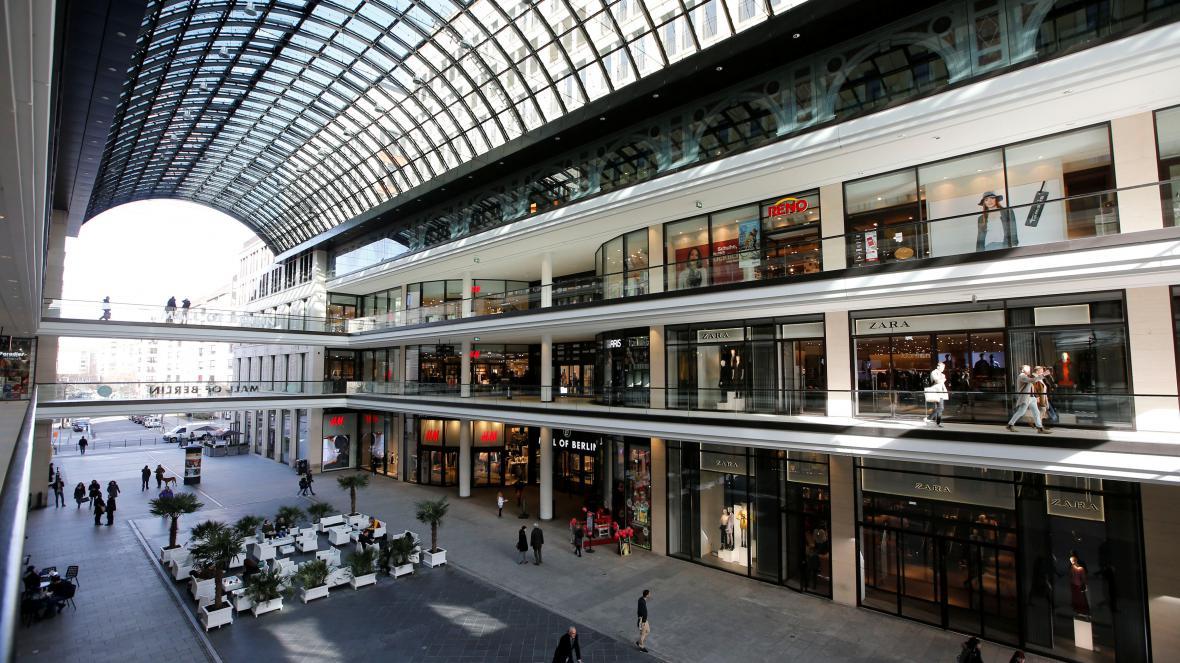Nákupní centrum v Berlíně