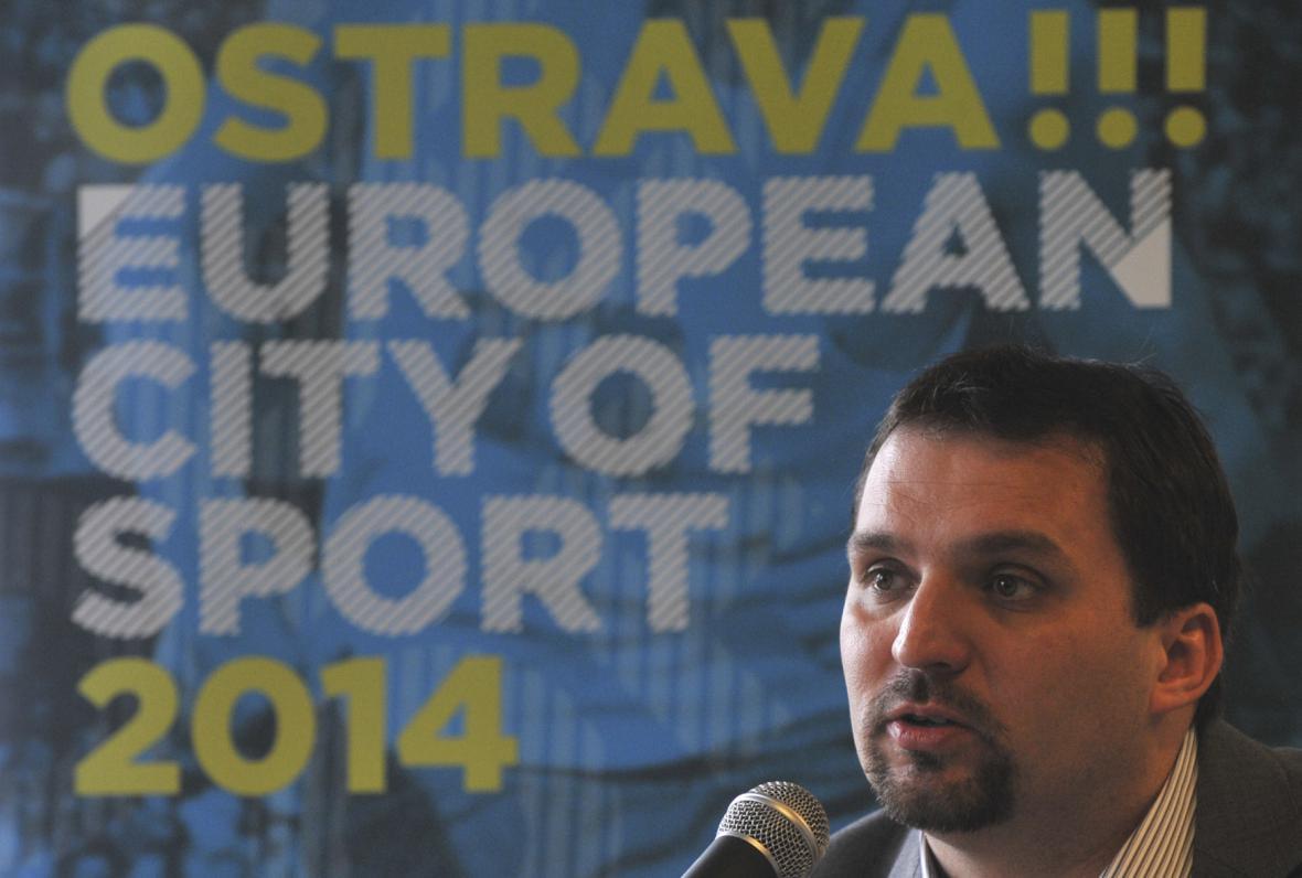 náměstek ostravského primátora Martin Štěpánek (ODS)