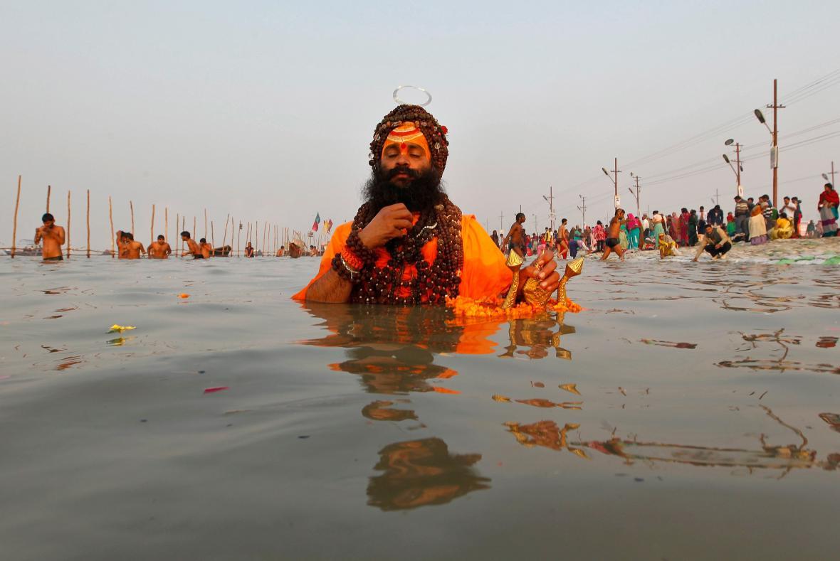 Život  u posvátné řeky Gangy