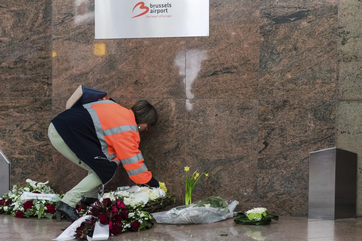 Brusel vzpomíná na oběti tragédie