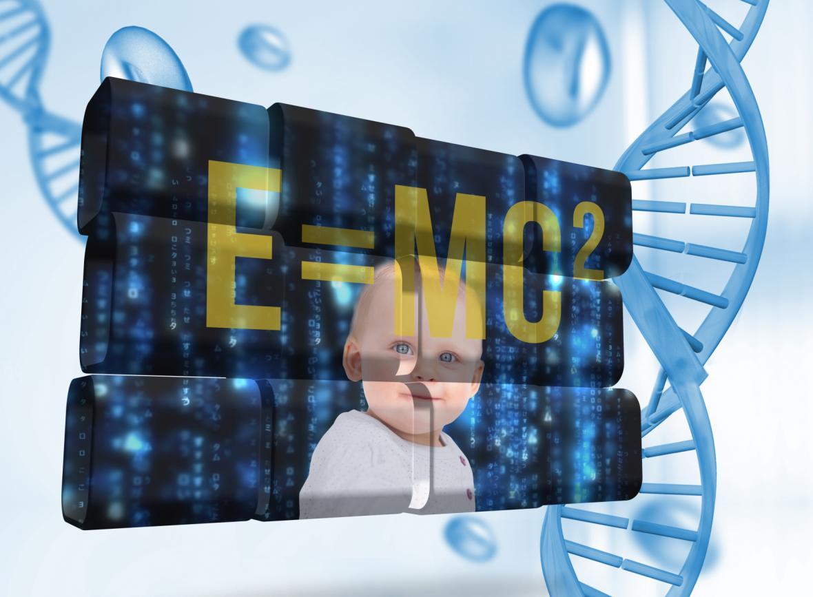 Genetická úprava dětí