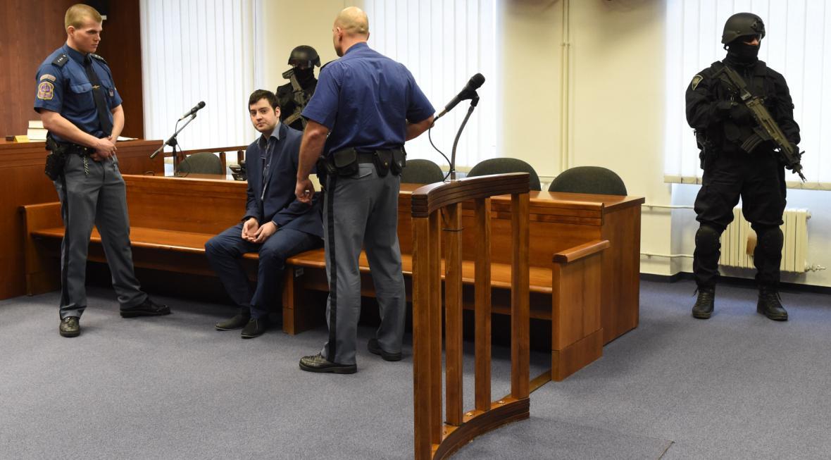 Kevin Dahlgren 23. 3. 2017 u olomouckého vrchního soudu