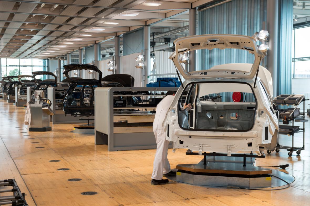 Továrna Volkswagenu v Drážďanech