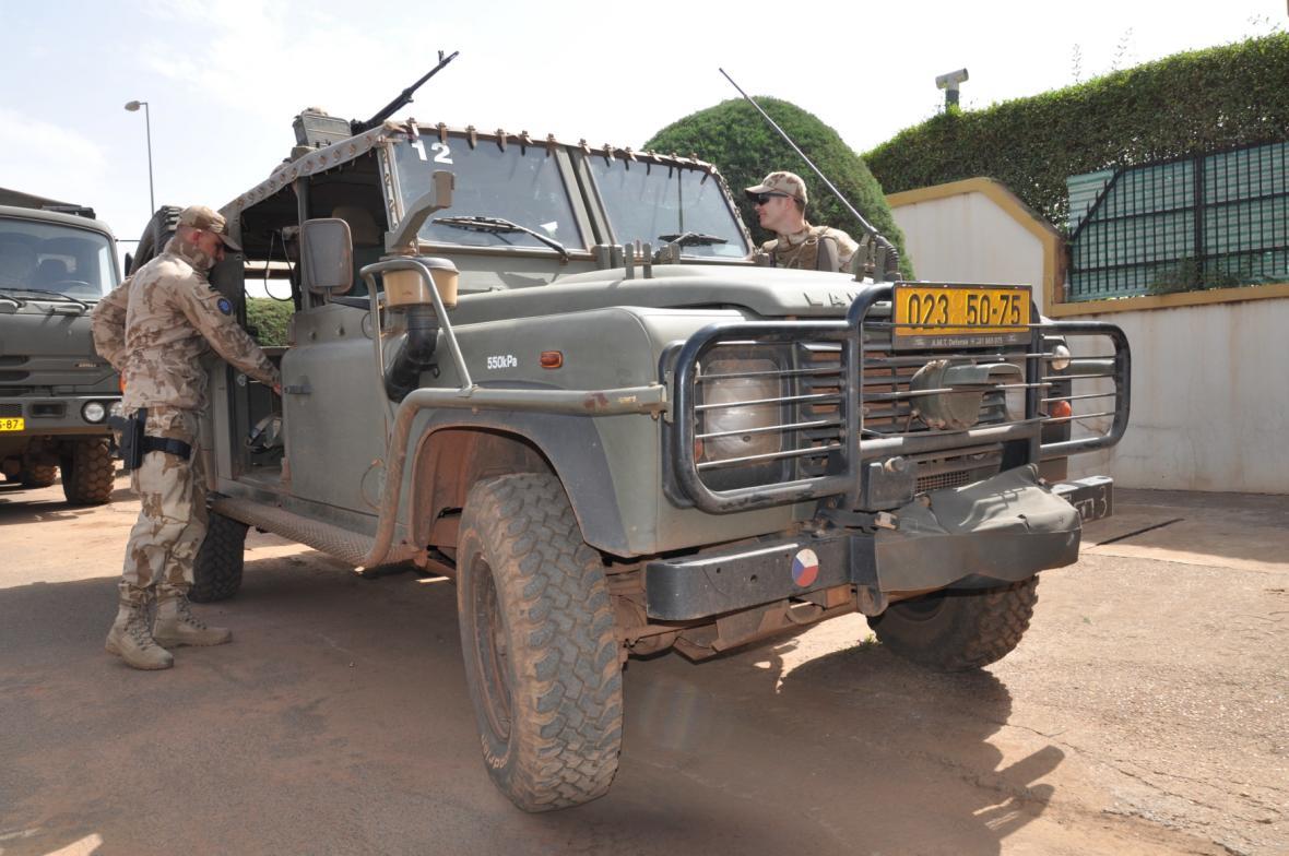 Čeští vojáci v Mali