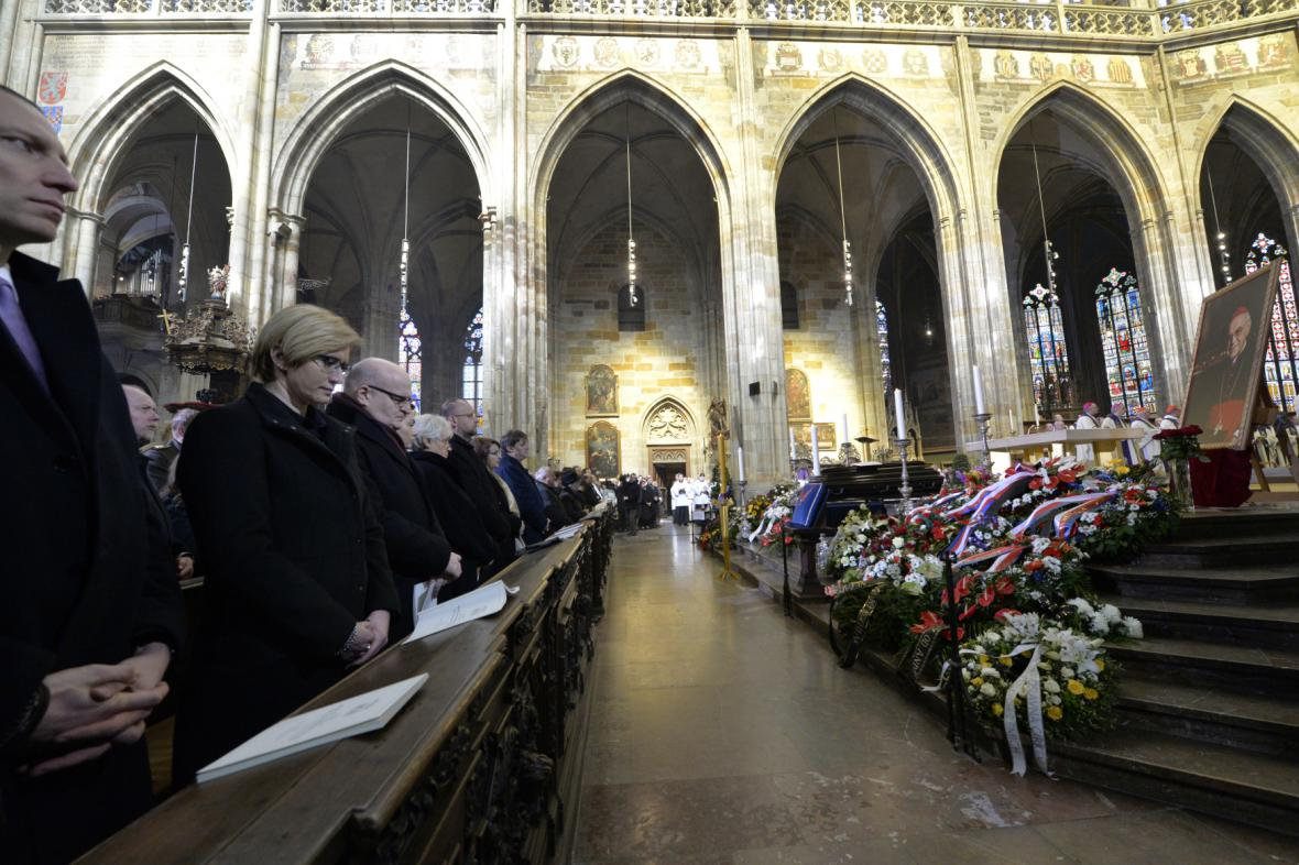 Pohřeb Miloslava Vlka