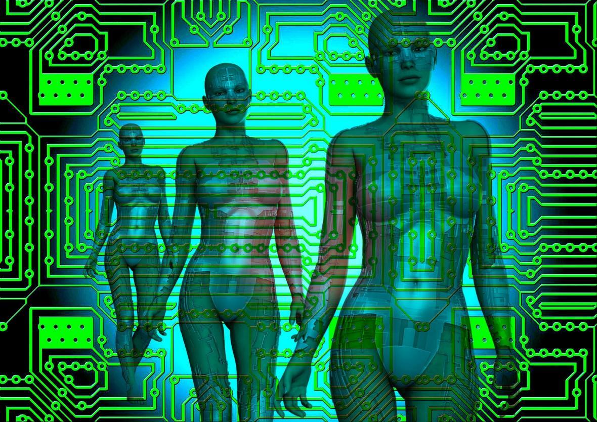 Syntéza počítače a člověka