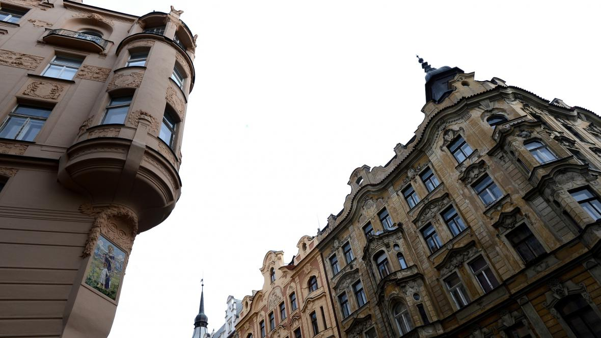 Široká ulice v Praze