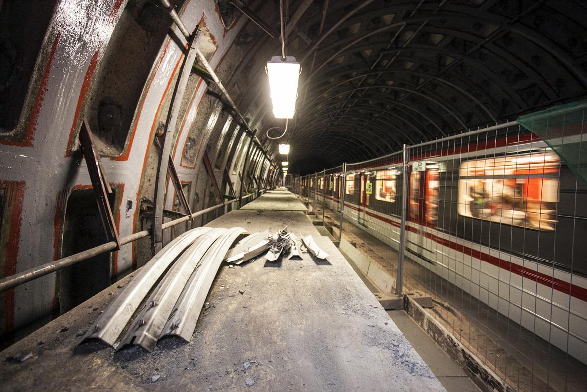 Rekonstruované metro Jinonice