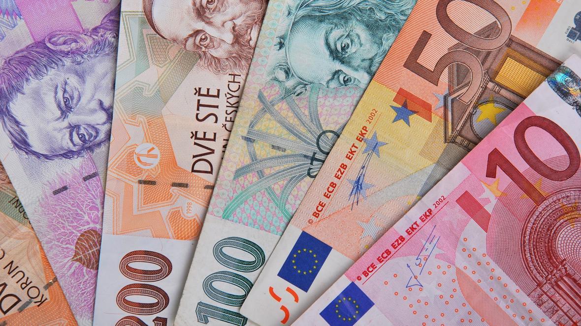 Česká měna a euro