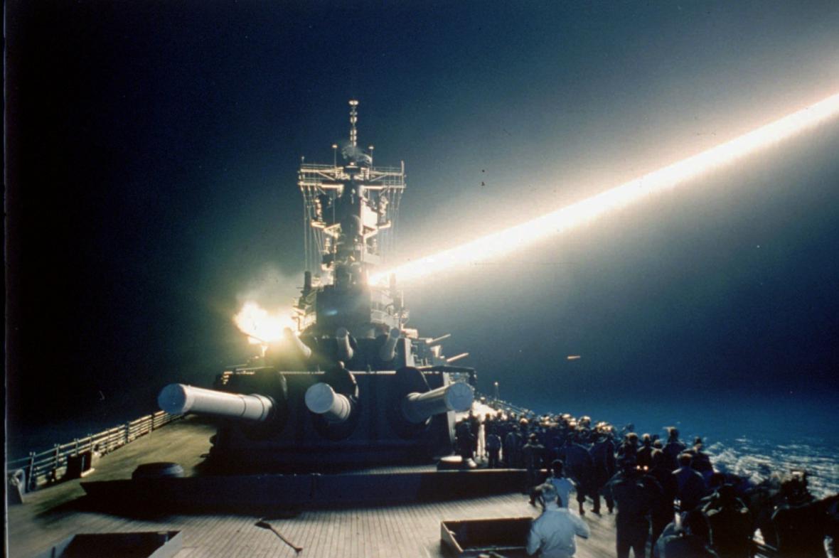 Odpálení střely Tomahawk