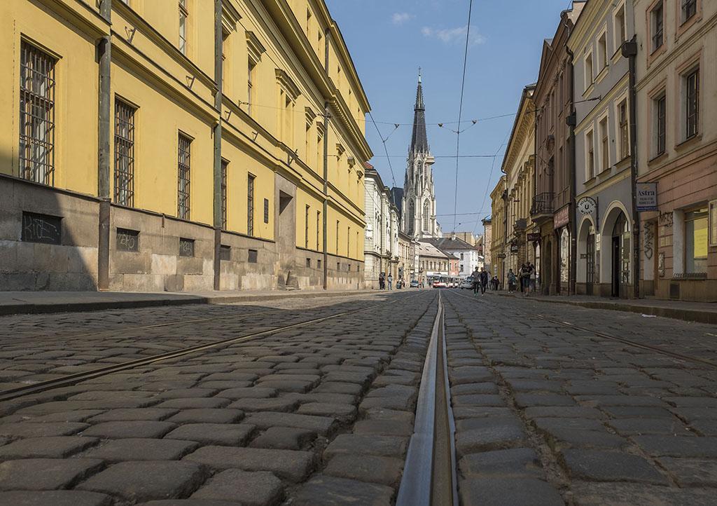 Oprava ulice 1. Máje