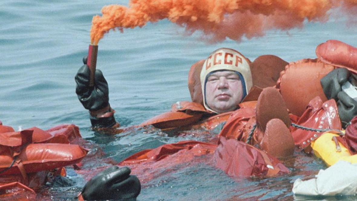 Sovětský kosmonaut Georgij Grečko