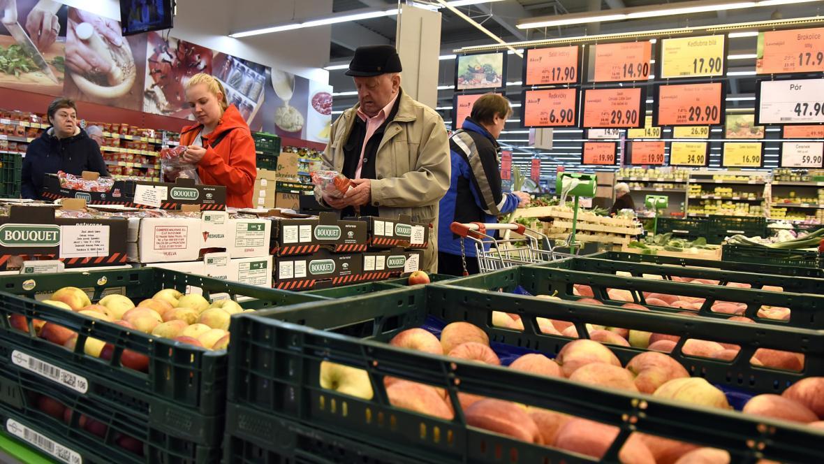 Nákup ovoce a zeleniny