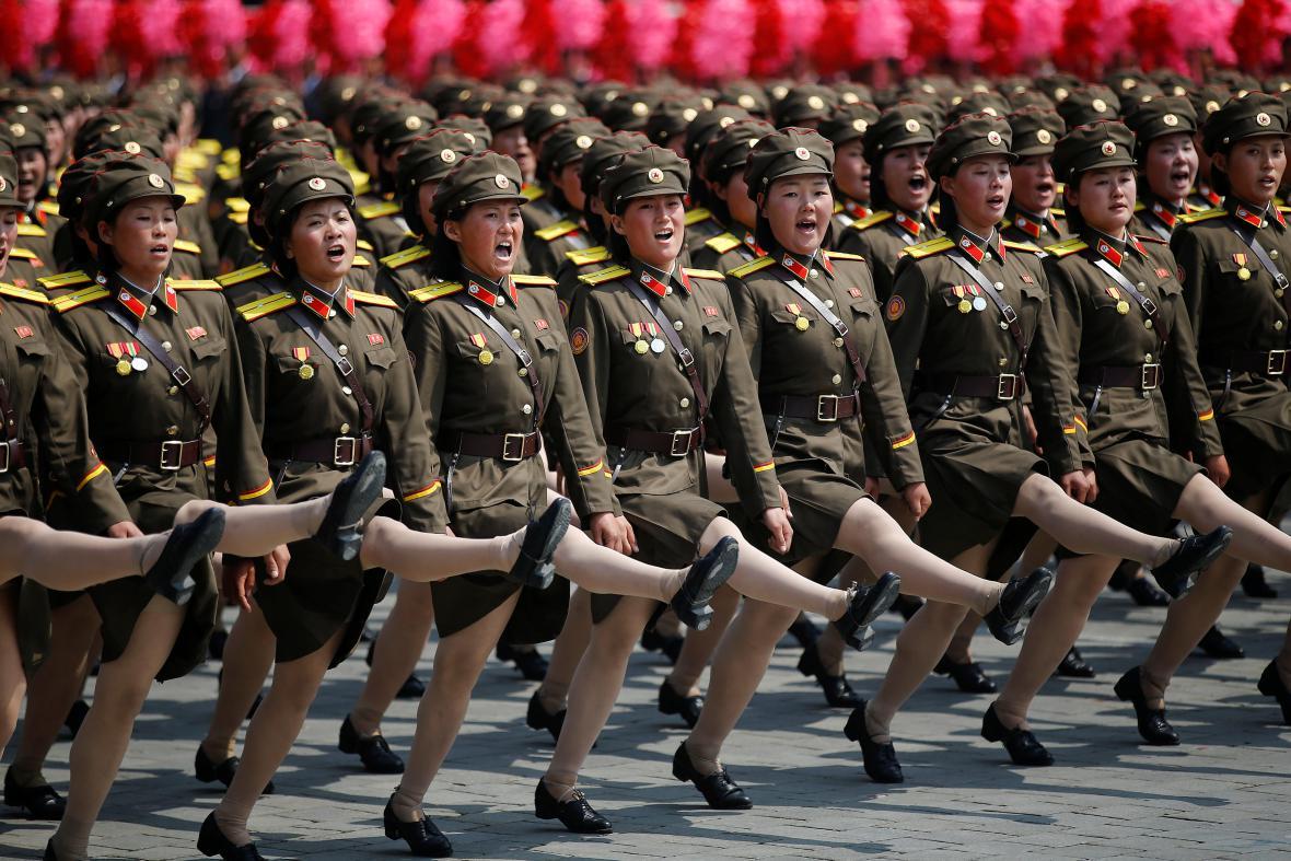 KLDR slaví výročí narození Kim Ir-sena