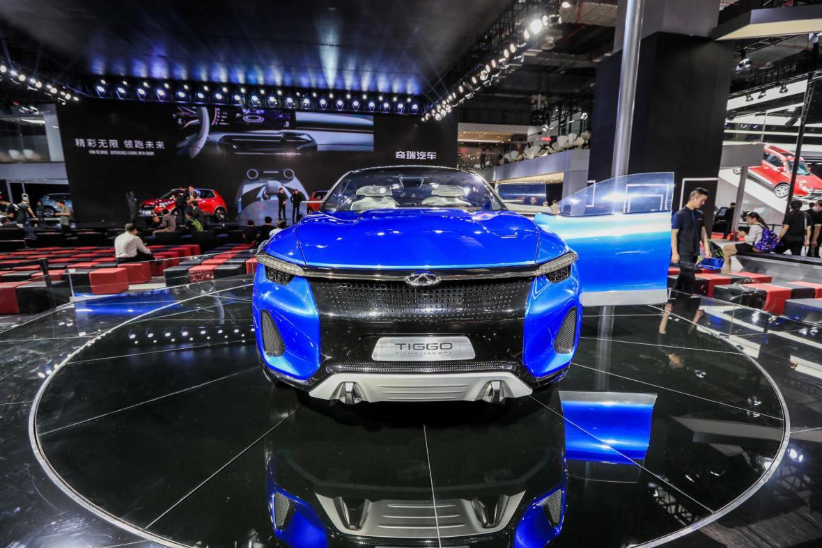 Autosalon v Šanghaji 2017
