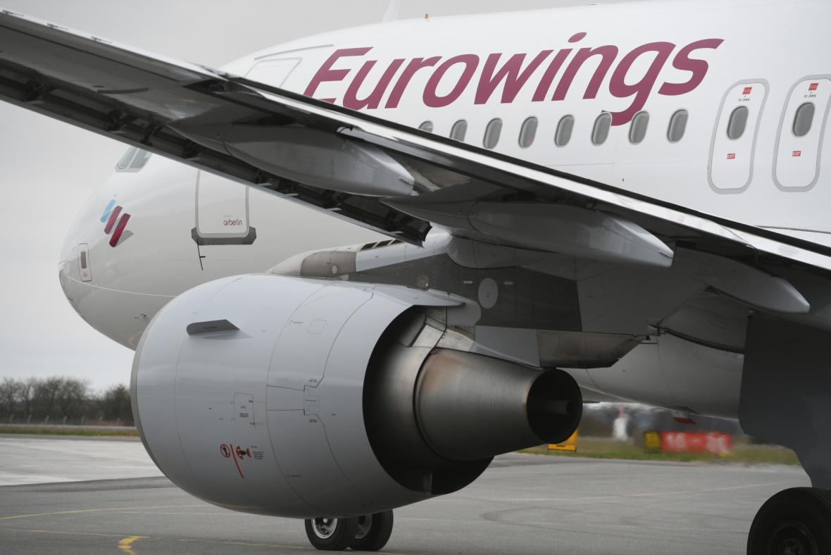 Letadlo společnosti Eurowings