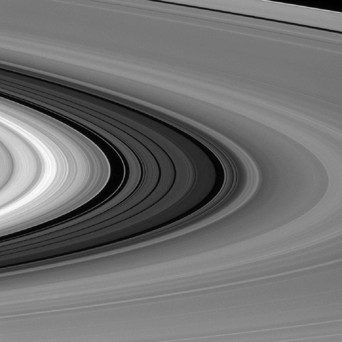 Saturnův prstenec