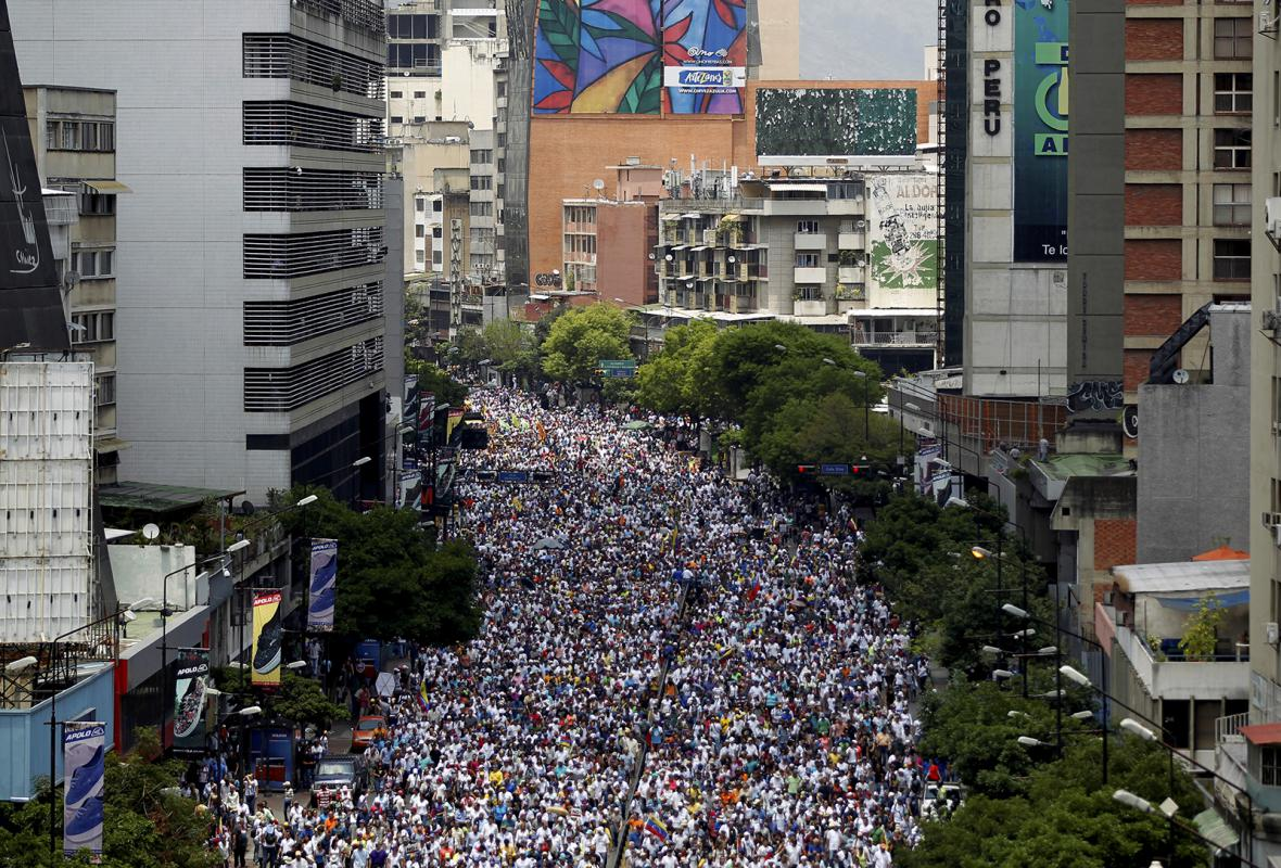 Protesty ve Venezuele