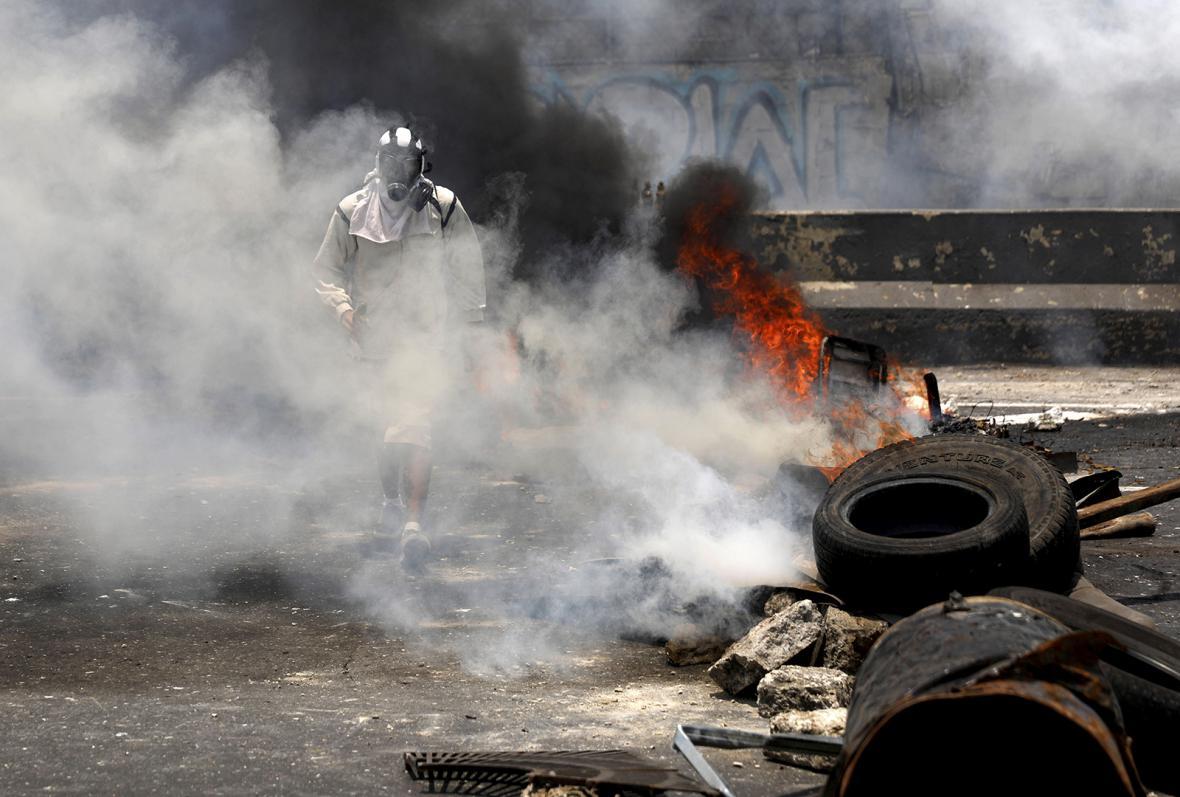 Protesty ve Venezuele
