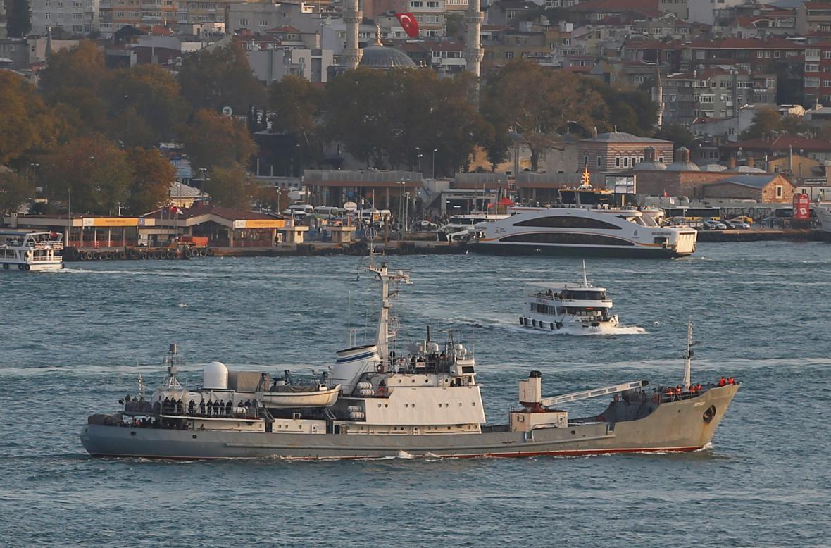 Výzvědná loď Liman (říjen 2016)