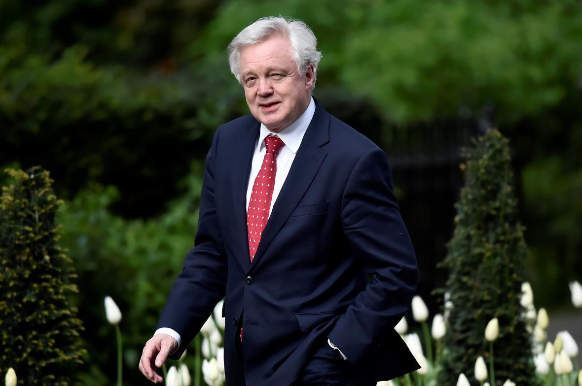 Britský ministr pro brexit David Davis