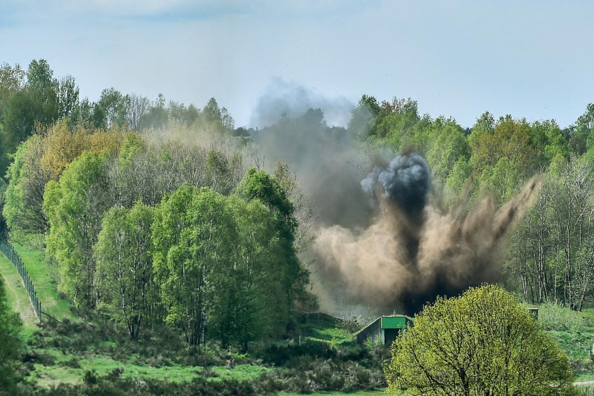 Likvidace munice z Bořího lesa