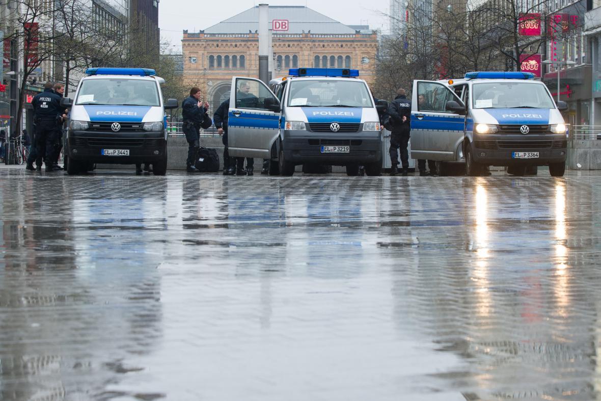 Policie v Hannoveru