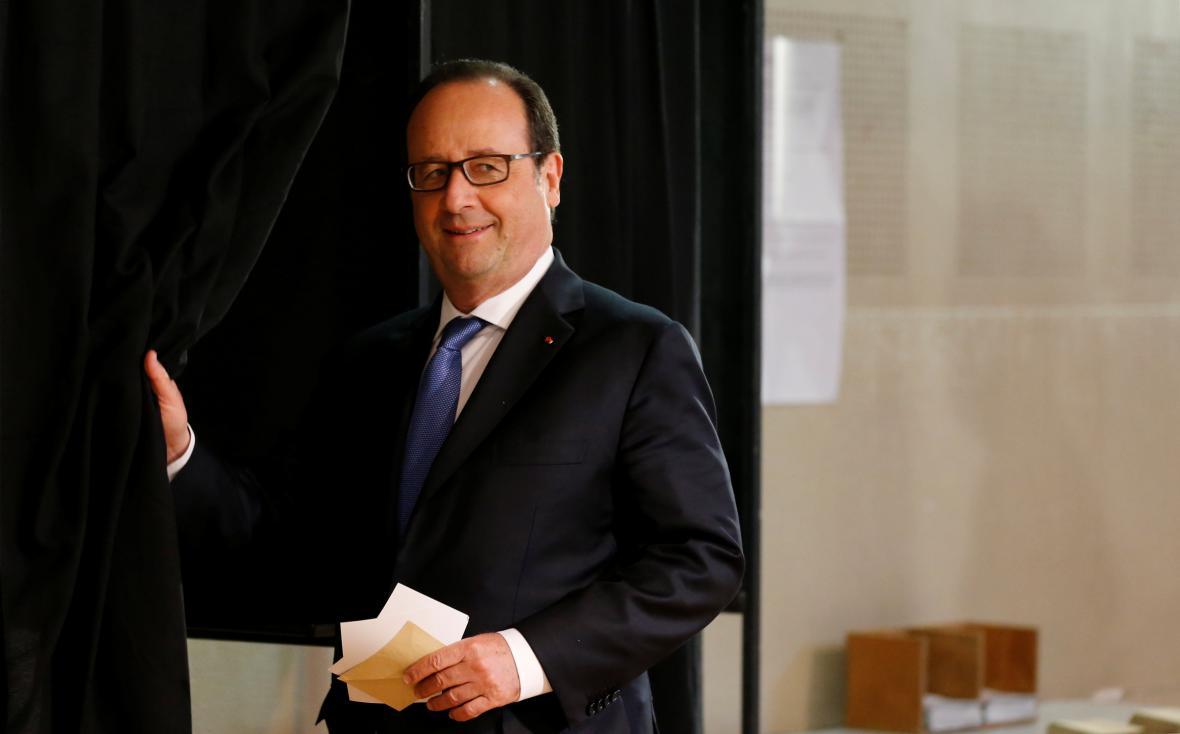 Hollande odvolil v Tulle