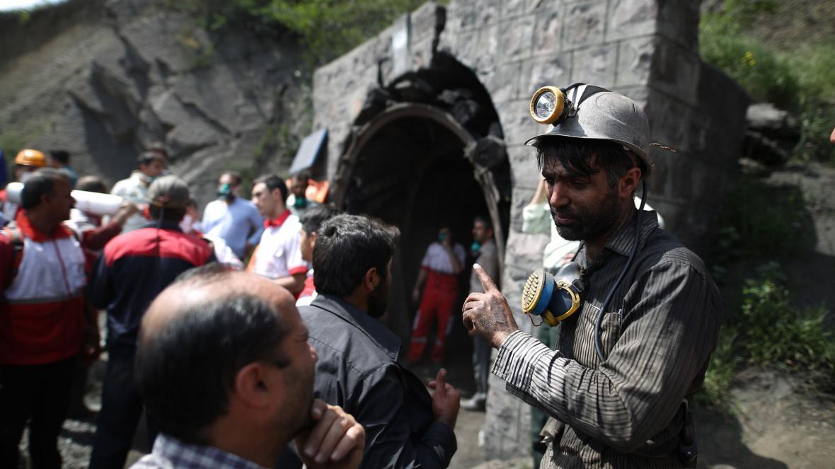 Íránské důlní neštěstí