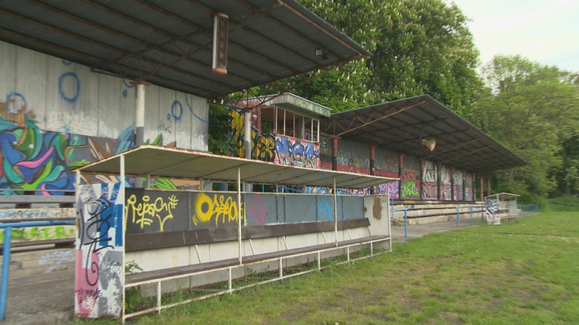 Zanedbané sportoviště na Zlínsku