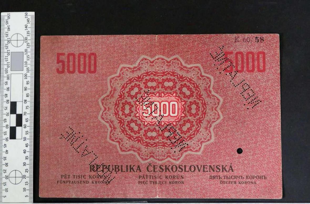 Takzvaná státovka odhalená na internetové aukci