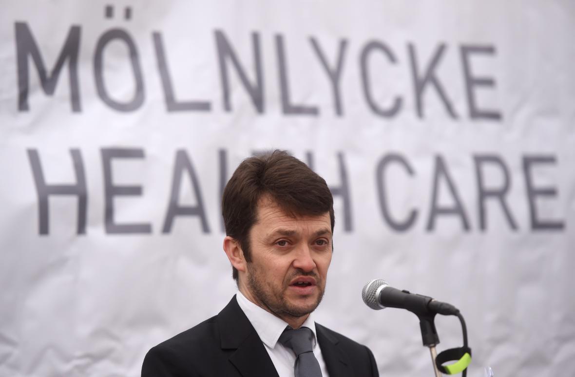 Generální ředitel výrobních závodů Mölnlycke ProcedurePak