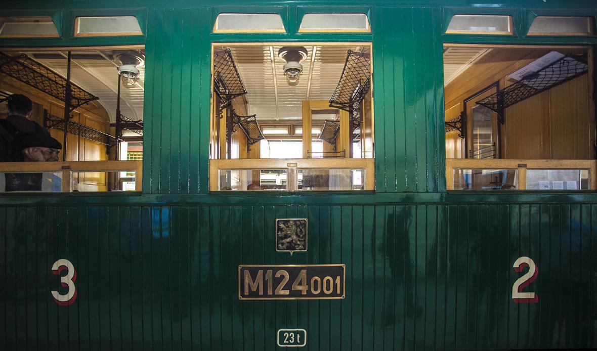 Parní vůz Komarek M 124.001