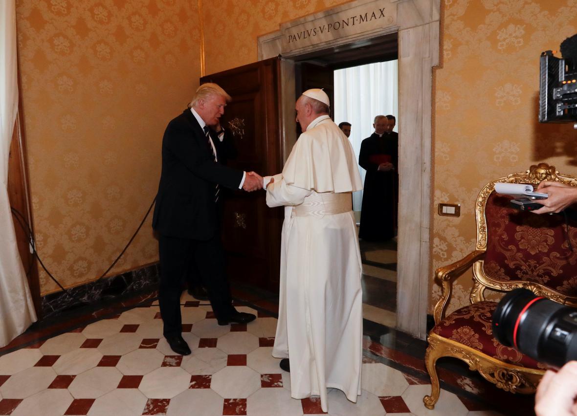 Donald Trump ve Vatikánu