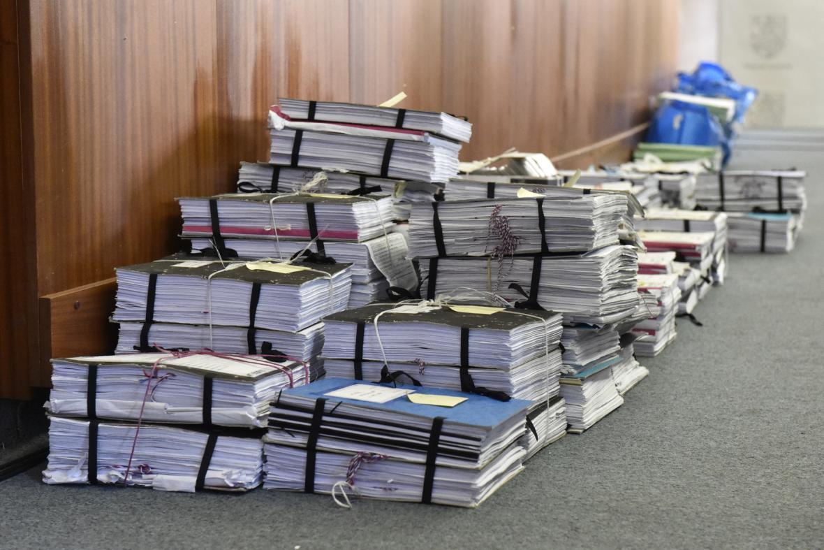 Spisový materiál ke kauze Rath, projednávané u Nejvyššího soudu