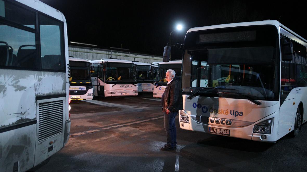 Autobusy v Libereckém kraji