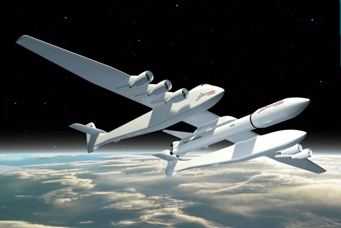 Letadlo Stratolaunch systems