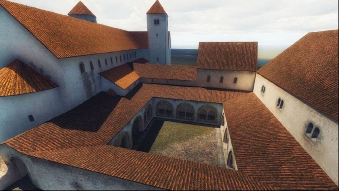 Bazilika sv. Víta s přilehlým klášterem
